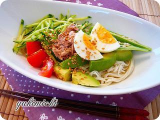 夏野菜たっぷり素麺☆