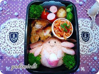 ポケモン☆ラッキーのお弁当♪