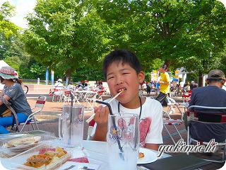 ビアガーデン☆ゆうくん♪