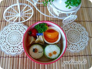 テントウムシのお弁当♪