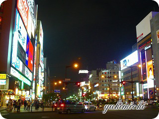 すすきの☆夜景