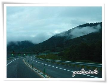 朝の高速道路☆