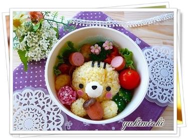 リスのお弁当♪