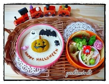 ハロウィン☆ジャック・オ・ランタンのお弁当♪