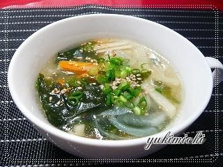 たけのこ入り中華スープ♪