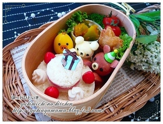 あーちゃんお誕生日おめでとう☆お弁当♪♪♪