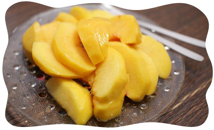 桃から梨へ