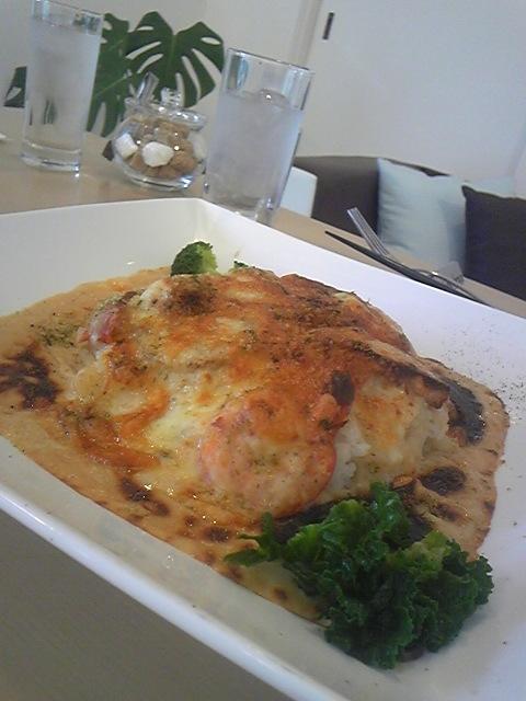 海老と里芋のドリア