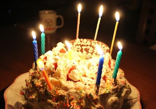 下の子誕生日ケーキ