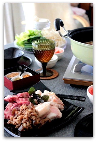 ぷるるん肉もつ鍋 (10)