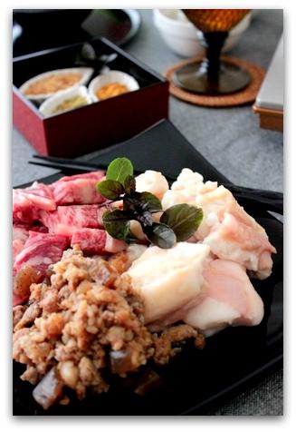 ぷるるん肉もつ鍋 (9)