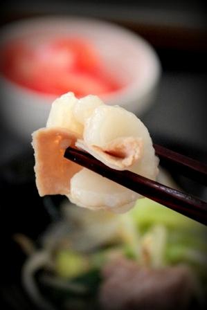 ぷるるん肉もつ鍋 (12)