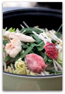 ぷるるん肉もつ鍋 (15)
