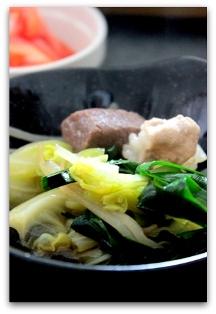 ぷるるん肉もつ鍋 (13)