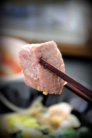 ぷるるん肉もつ鍋 (14)
