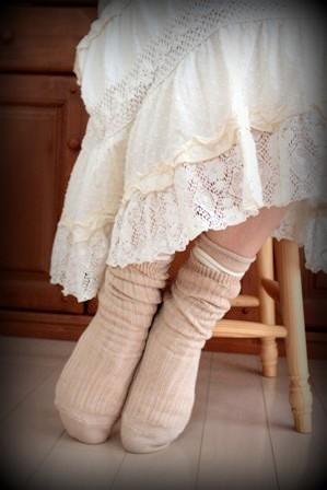 千代治の靴下