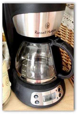 ラッセルホブズのコーヒーメーカー (5)