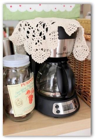 ラッセルホブズのコーヒーメーカー