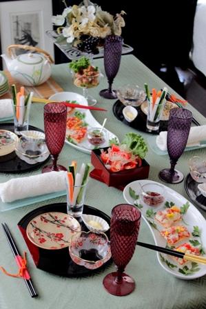 ピザ 和のテーブル (4)
