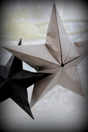 折り紙の立体お星様 (2)