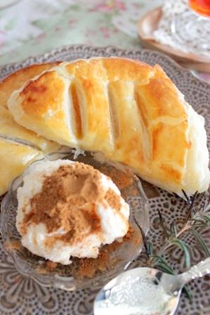 おうちパン工房 アップルパイ&カフェオレパン (6)