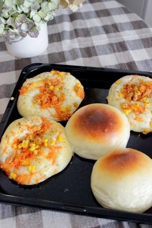 おうちパン工房 牛乳パン&クロワッサン (3)