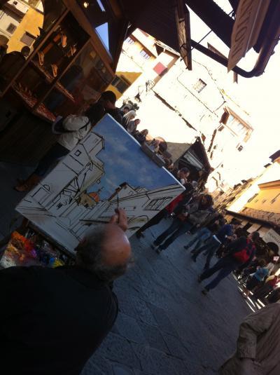 pittore in città