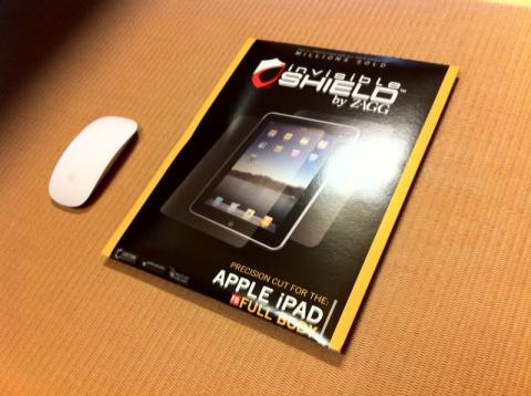invisibleSHIELD for iPad1