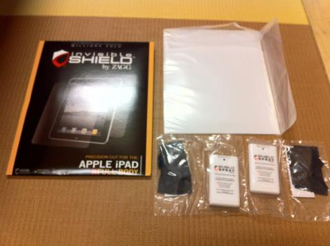 invisibleSHIELD for iPad2