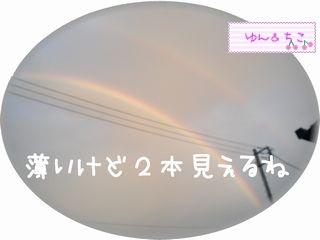 ちこちゃん日記★85★はっぴぃだぶるれいんぼう♪-2
