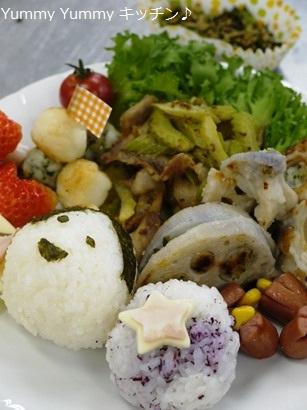 お弁当クッキング♪20130304-Aー2