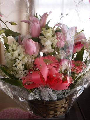 月命日用(3月)先生からのお花