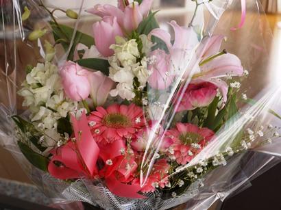 月命日用 先生からのお花