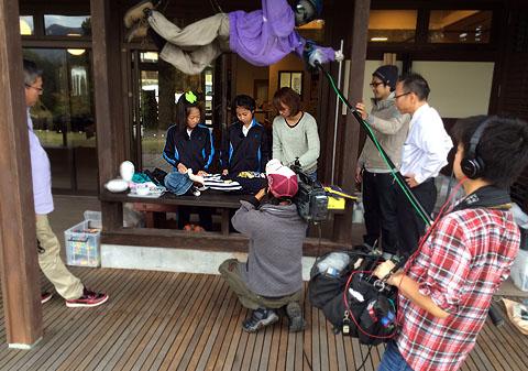 石川TV収録2