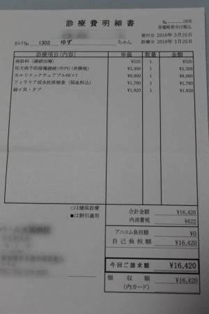 予防接種&費用