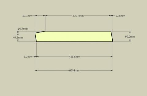 ゴミ収納BOX-加工図