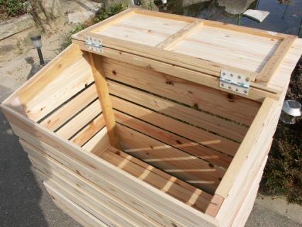 ゴミ収納BOX完成2