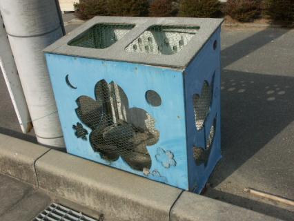 ゴミ収納BOX完成-先代