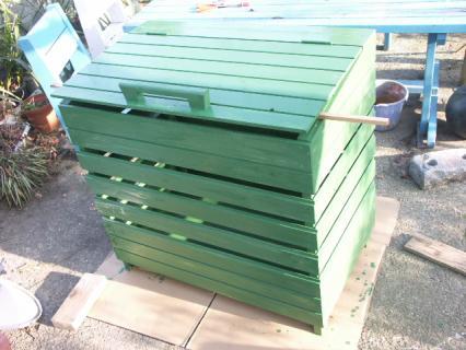 ゴミ収納BOX完成3