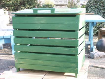 ゴミ収納BOX完成4