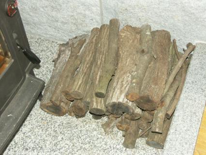 ウバメガシの薪