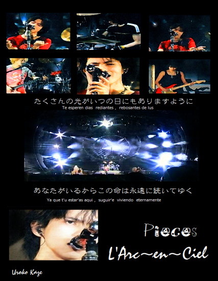 LArc~en~Ciel - Pieces LIVE2a