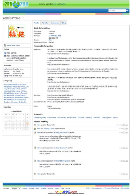 ZenZuu - inahos Profile
