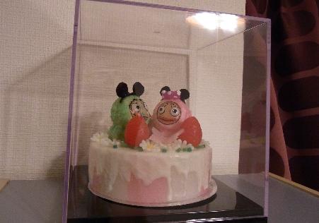 ろうそくケーキ3