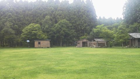 長田山荘キャンプ場1