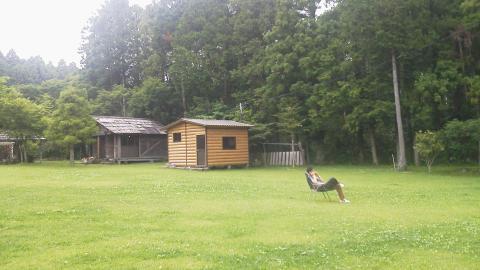 長田山荘キャンプ場2