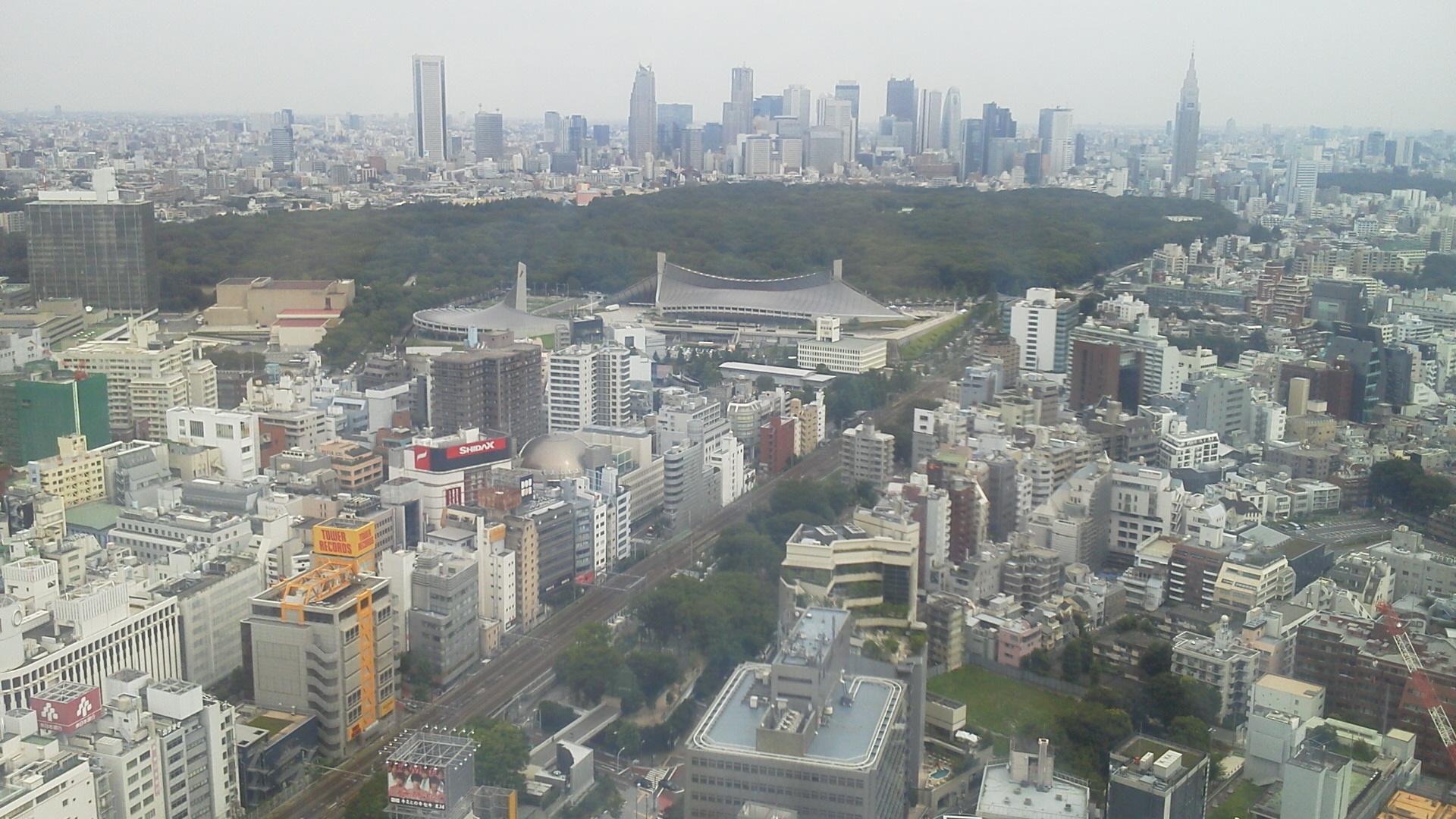 渋谷ヒカリエ31Fより1