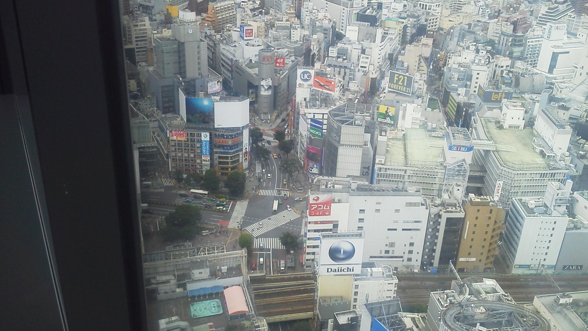 渋谷ヒカリエ31Fより3