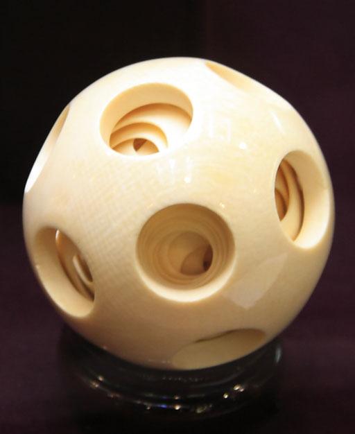 象牙多層球3