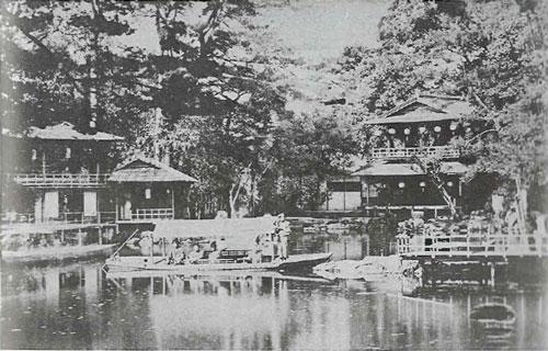 旧九条邸池